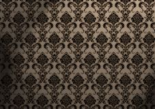 Papel de parede barroco Fotos de Stock