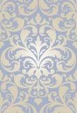 Papel de parede barroco velho sem emenda Imagem de Stock