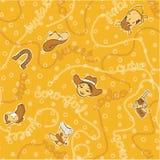 Papel de parede bonito da vaqueira do rodeio Fotografia de Stock Royalty Free
