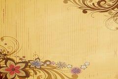Papel de parede clássico da flor ilustração stock