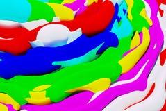 Papel de parede colorido abstrato ilustração royalty free