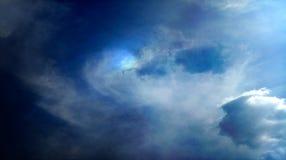 Papel de parede colorido do fundo da textura dos efeitos da mistura das nuvens fumarentos fotos de stock