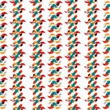 Papel de parede colorido sumário do teste padrão do fundo Ilustração Stock
