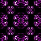 Papel de parede cor-de-rosa brilhante do teste padrão da cor Ilustração do Vetor