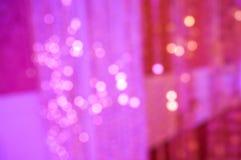 Papel de parede cor-de-rosa do fundo do borrão do bokeh Imagem de Stock