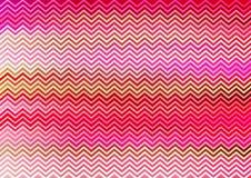 Papel de parede cor-de-rosa do teste padrão do ziguezague Foto de Stock