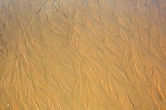 Papel de parede da areia do mar Imagem de Stock Royalty Free