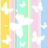 Papel de parede da borboleta Imagens de Stock Royalty Free