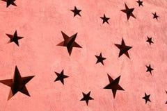 Papel de parede da estrela Imagens de Stock