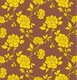 Papel de parede da flor sem emenda Imagem de Stock Royalty Free