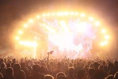 Papel de parede da foto da vida noturno Imagem de Stock