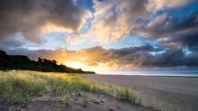 Papel de parede da praia de Oakura Fotos de Stock