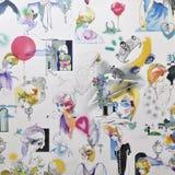 Papel de parede da senhora Diana Imagens de Stock Royalty Free