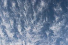 Papel de parede das nuvens foto de stock