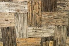 Papel de parede de bambu velho Foto de Stock