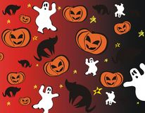 Papel de parede de Halloween Foto de Stock Royalty Free