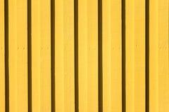 Papel de parede de madeira amarelo do fundo da textura Imagens de Stock Royalty Free