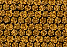 Papel de parede de Rosa Imagens de Stock Royalty Free