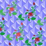 Papel de parede de Rosa Fotos de Stock Royalty Free