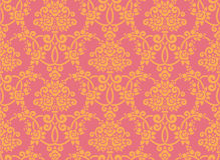 Papel de parede de Rosa Imagem de Stock Royalty Free