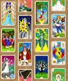 Papel de parede de Tarot Fotografia de Stock
