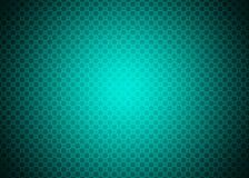 Papel de parede decorativo azul verde de néon ciano escuro do fundo do teste padrão de Techno ilustração do vetor