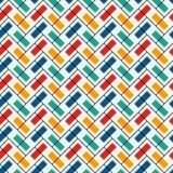 Papel de parede de desenhos em espinha Fundo abstrato do parquet Teste padrão de superfície sem emenda com as telhas retangulares Imagem de Stock