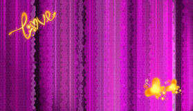 Papel de parede do amor Imagem de Stock