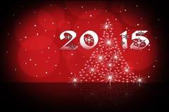 Papel de parede do ano novo Fotografia de Stock