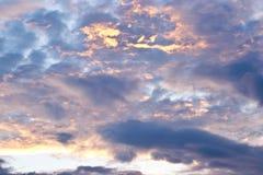 Papel de parede do céu Imagens de Stock Royalty Free