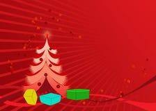 Papel de parede do cartão de Natal Foto de Stock Royalty Free