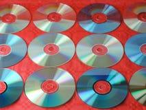 Papel de parede do CD Imagem de Stock