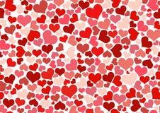 Papel de parede do coração Imagem de Stock