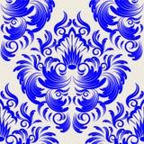 Papel de parede do damasco Imagens de Stock Royalty Free
