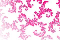 Papel de parede do damasco em cores modernas Fotografia de Stock