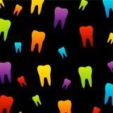 Papel de parede do dente para o dentista ilustração do vetor
