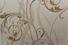 Papel de parede do fundo do laço na parede Fotografia de Stock