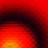 Papel de parede do fundo do polígono do mosaico colorido baixo Illustr do vetor Foto de Stock Royalty Free