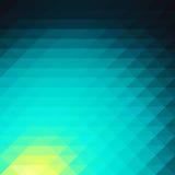 Papel de parede do fundo do polígono do mosaico colorido baixo Illustr do vetor Foto de Stock