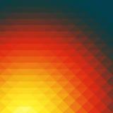 Papel de parede do fundo do polígono do mosaico colorido baixo Illustr do vetor Imagens de Stock