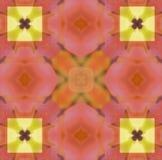 Papel de parede do fundo do teste padrão Ilustração Royalty Free