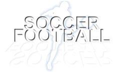Papel de parede do futebol do futebol Imagens de Stock