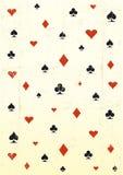 Papel de parede do póquer de Grunge Fotos de Stock