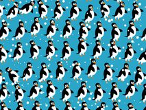 Papel de parede do pinguim ilustração do vetor