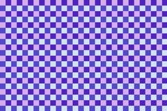 papel de parede do teste padrão do tabuleiro de xadrez Foto de Stock Royalty Free