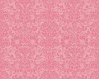 Papel de parede do Victorian - Rosa Imagens de Stock Royalty Free
