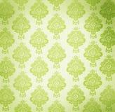 Papel de parede do vintage com projeto floral Foto de Stock