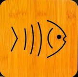 Papel de parede dos peixes Fotografia de Stock