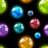 Papel de parede dos planetas Fotografia de Stock Royalty Free