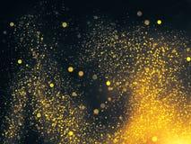 Papel de parede dourado criativo Imagens de Stock Royalty Free